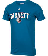 Men's adidas Minnesota Timberwolves NBA Kevin Garnett Name and Number T-Shirt