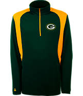 Men's Antigua Green Bay Packers NFL Delta Quarter Zip Shirt