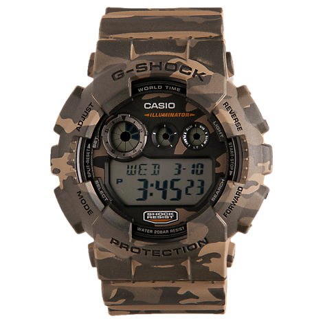 Casio G-Shock GD120 Camoflouge Watch