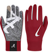 Nike Alabama Crimson Tide College Stadium Football Gloves
