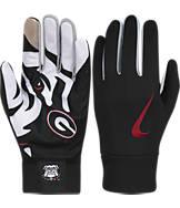 Nike Georgia Bulldogs College Stadium Football Gloves