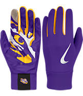 Nike LSU Tigers College Stadium Football Gloves