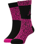 Kids' Jordan Elephant Print High Crew Socks
