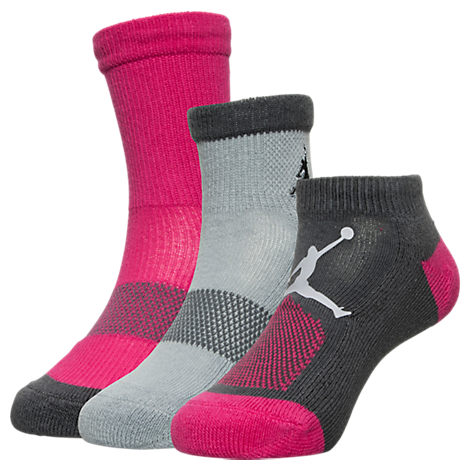 Kids' Jordan 3-Pack Waterfall Socks