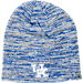 Front view of Top of the World Kentucky Wildcats College Glaze Knit Hat in Team Colors