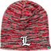 Front view of Top of the World Louisville Cardinals College Glaze Knit Hat in Team Colors