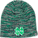 Front view of Top of the World Notre Dame Fighting Irish College Glaze Knit Hat in Team Colors
