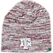 Front view of Top of the World Texas A & M Aggies College Glaze Knit Hat in Team Colors