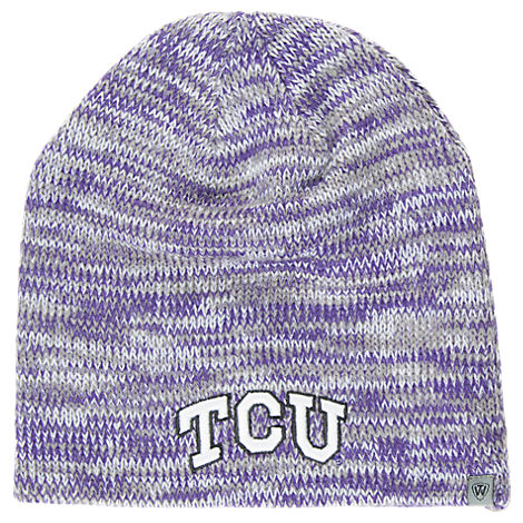 Top of the World TCU Horned Frogs College Glaze Knit Hat
