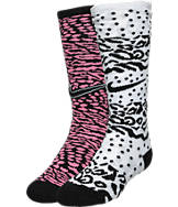 Kids' Nike Graphic Knee High Crew Socks 2-Pack