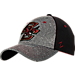 Front view of Zephyr Boston College Eagles Graphite Flex Cap in Team Colors