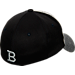 Back view of Zephyr Butler Bulldogs College Graphite Flex Cap in Team Colors
