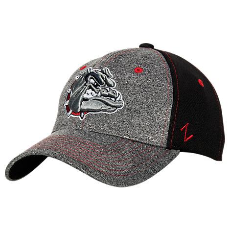 Zephyr Gonzaga Bulldogs College Graphite Flex Cap