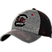 Front view of Zephyr South Carolina Gamecocks College Graphite Flex Cap in Team Colors