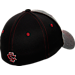 Back view of Zephyr South Carolina Gamecocks College Graphite Flex Cap in Team Colors