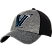 Front view of Zephyr Villanova Wildcats College Graphite Flex Cap in Team Colors