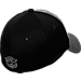 Back view of Zephyr Villanova Wildcats College Graphite Flex Cap in Team Colors