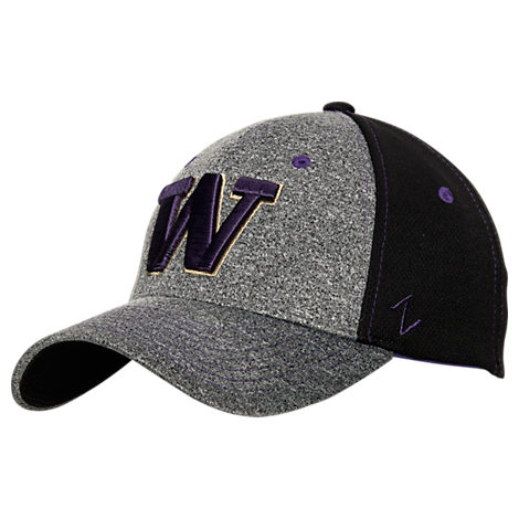 Zephyr Washington Huskies College Graphite Flex Cap