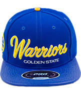 Pro Standard Golden State Warriors NBA Leather Bill Snapback Hat