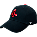 Front view of '47 Brand Boston Red Sox MLB Clean Up Adjustable Hat in Navy