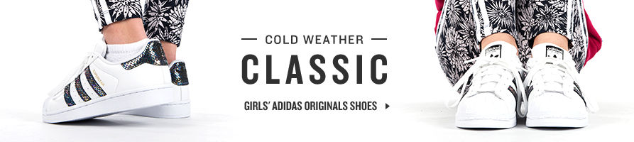 Shop Girls' Adidas Originals Shoes.