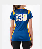 Women's Majestic Golden State Warriors NBA Stephen Curry Draft Shirt