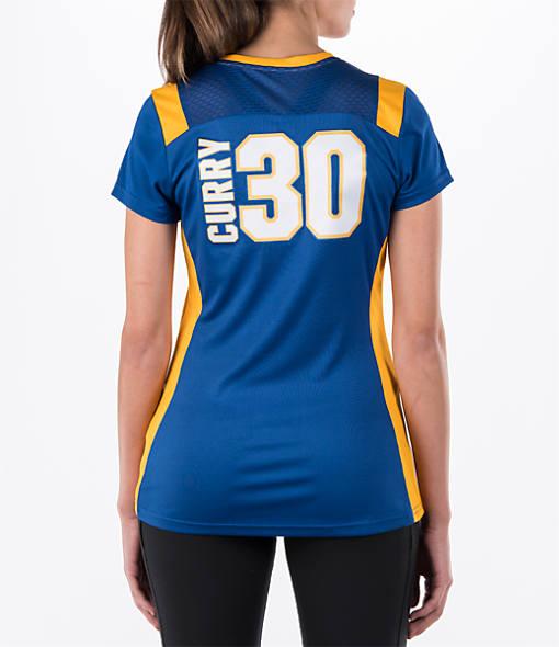 Women's Majestic Golden State Warriors NBA Stephen Curry Draft Shirt