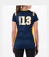 Women's Majestic Indiana Pacers NBA Paul George Draft Shirt