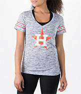 Women's New Era Houston Astros MLB Space Dye T-Shirt