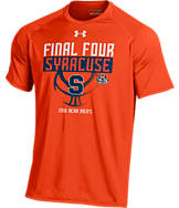 Men's Under Armour Syracuse Orange College Final Four 2016 Team Tech Basketball T-Shirt
