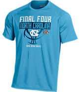 Men's Under Armour North Carolina Tar Heels College Final Four 2016 Team Tech Basketball T-Shirt