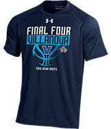 Men's Under Armour Villanova Wildcats College Final Four 2016 Team Tech Basketball T-Shirt