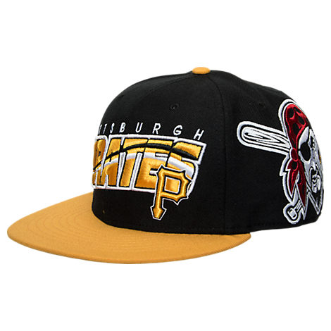 47 Brand Pittsburgh Pirates MLB Hazelwood Wool Snapback Hat