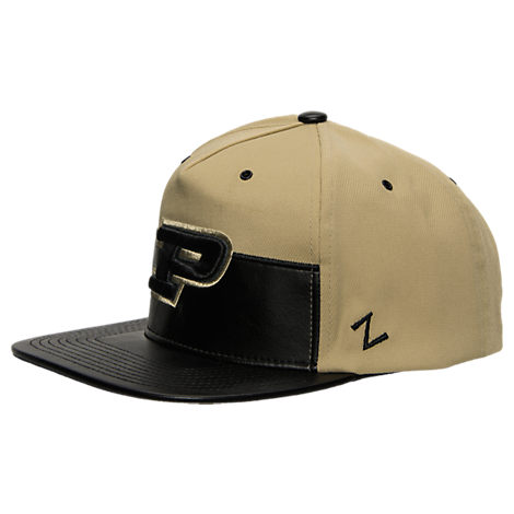 Zephyr Purdue Boilermakers College Anarchy Snapback Hat