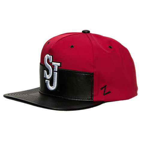 Zephyr St. Johns Red Storm College Anarchy Snapback Hat