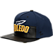Front view of Zephyr Toledo Rockets College Anarchy Snapback Hat in Team Colors