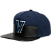 Front view of Zephyr Villanova Wildcats College Anarchy Snapback Hat in Team Colors
