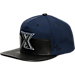 Front view of Zephyr Xavier Musketeers College Anarchy Snapback Hat in Team Colors