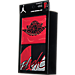 Back view of Infant Jordan Coverall Flight Logo 2-Piece Set in Red/Black