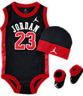 Infant Jordan Basketball Jersey 3-Piece Set