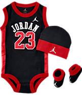 Infant Jordan Basketball Jersey 3-Piece Set