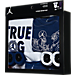 Back view of Infant Jordan True OG Monsters 5-Piece Set in White/Blue