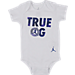 Alternate view of Infant Jordan True OG Monsters 5-Piece Set in White/Blue