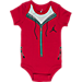 Alternate view of Infant Jordan Elephant Jumpsuit 5-Piece Set in Red/Black/White