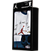 Back view of Infant Jordan Timeless 3-Piece Set in White/Gym Red/True Blue