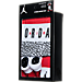Back view of Infant Jordan Micro Elephant 3-Piece Set in Black/White/Red