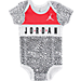Alternate view of Infant Jordan Micro Elephant 3-Piece Set in Black/White/Red