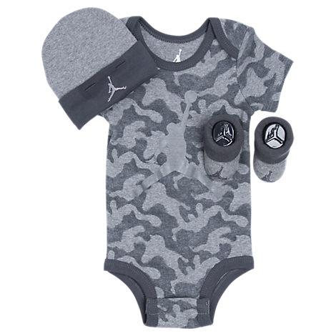 Infant Jordan AJ Camo 3-Piece Set
