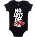 Alternate view of Infant Jordan No Jays Off 3-Piece Set in Black/Red