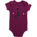 Alternate view of Infant Jordan Dunkin Toggle 3-Piece Set in Plum/Black